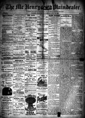 McHenry Plaindealer (McHenry, IL), 10 Jul 1889