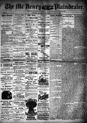 McHenry Plaindealer (McHenry, IL), 31 Jul 1889
