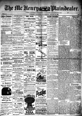 McHenry Plaindealer (McHenry, IL), 28 Aug 1889
