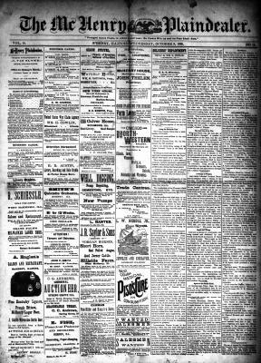 McHenry Plaindealer (McHenry, IL), 9 Oct 1889