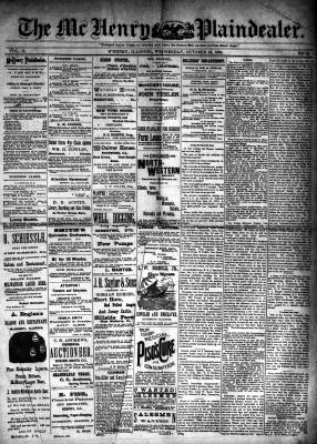 McHenry Plaindealer (McHenry, IL), 23 Oct 1889