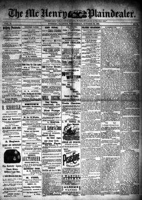 McHenry Plaindealer (McHenry, IL), 30 Oct 1889