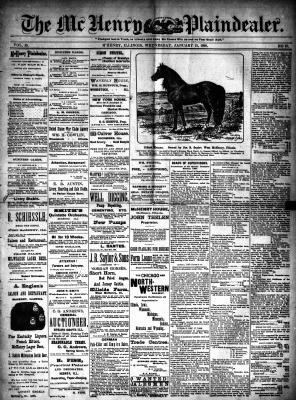 McHenry Plaindealer (McHenry, IL), 15 Jan 1890