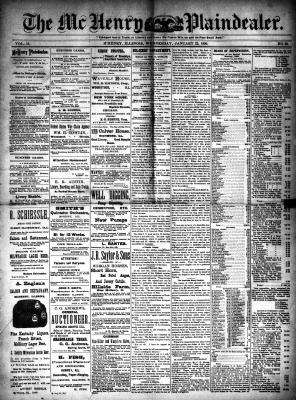 McHenry Plaindealer (McHenry, IL), 22 Jan 1890