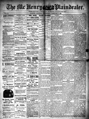 McHenry Plaindealer (McHenry, IL), 5 Feb 1890