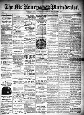 McHenry Plaindealer (McHenry, IL), 12 Feb 1890
