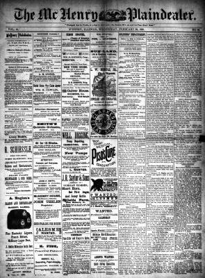 McHenry Plaindealer (McHenry, IL), 26 Feb 1890