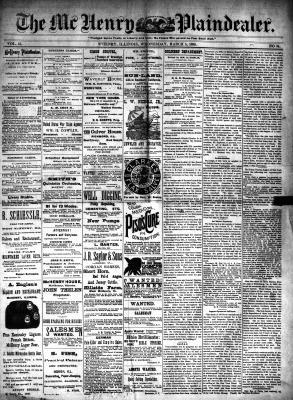 McHenry Plaindealer (McHenry, IL), 5 Mar 1890