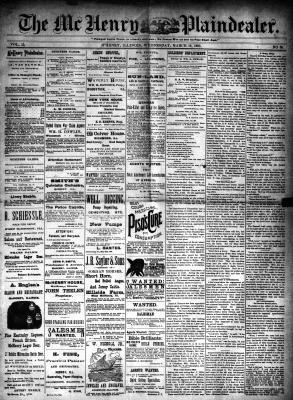 McHenry Plaindealer (McHenry, IL), 19 Mar 1890
