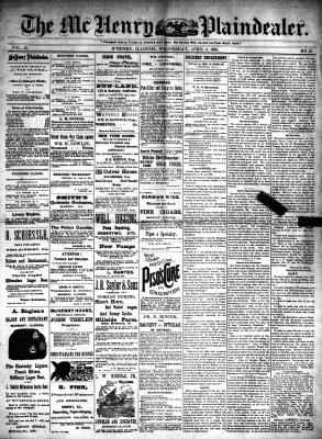 McHenry Plaindealer (McHenry, IL), 2 Apr 1890