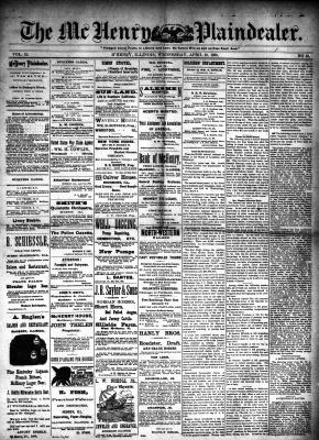 McHenry Plaindealer (McHenry, IL), 30 Apr 1890