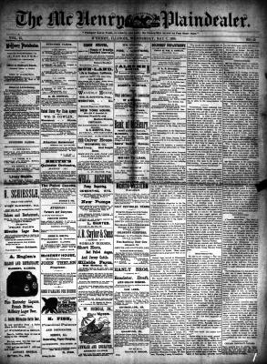 McHenry Plaindealer (McHenry, IL), 7 May 1890