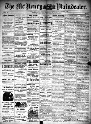 McHenry Plaindealer (McHenry, IL), 14 May 1890