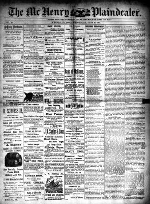 McHenry Plaindealer (McHenry, IL), 18 Jun 1890