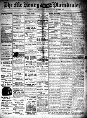 McHenry Plaindealer (McHenry, IL), 2 Jul 1890