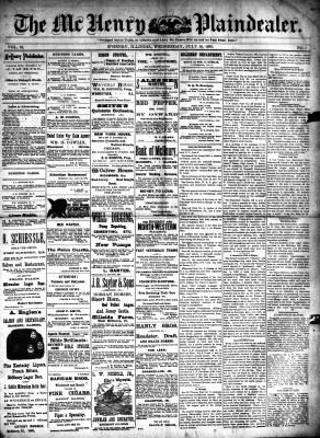 McHenry Plaindealer (McHenry, IL), 16 Jul 1890