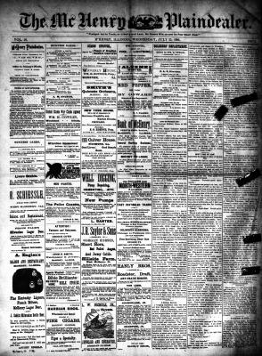 McHenry Plaindealer (McHenry, IL), 23 Jul 1890