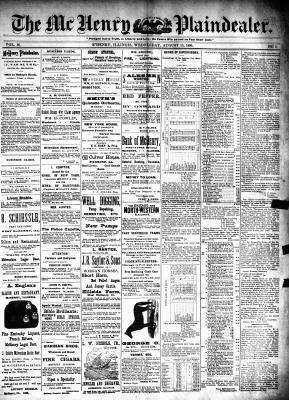 McHenry Plaindealer (McHenry, IL), 13 Aug 1890