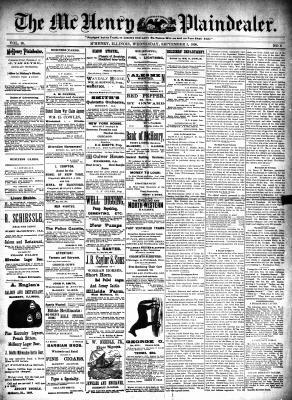 McHenry Plaindealer (McHenry, IL), 3 Sep 1890