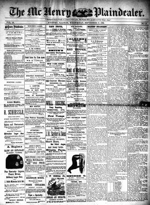 McHenry Plaindealer (McHenry, IL), 17 Sep 1890