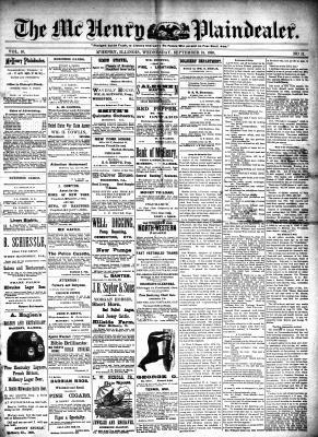 McHenry Plaindealer (McHenry, IL), 24 Sep 1890
