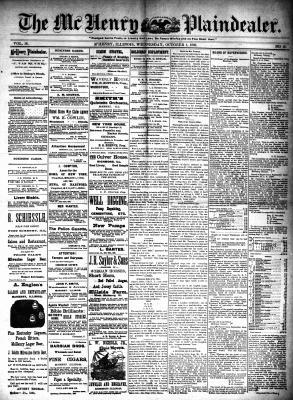 McHenry Plaindealer (McHenry, IL), 1 Oct 1890