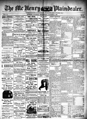 McHenry Plaindealer (McHenry, IL), 8 Oct 1890