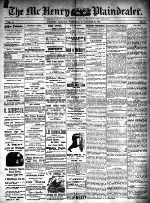 McHenry Plaindealer (McHenry, IL), 22 Oct 1890