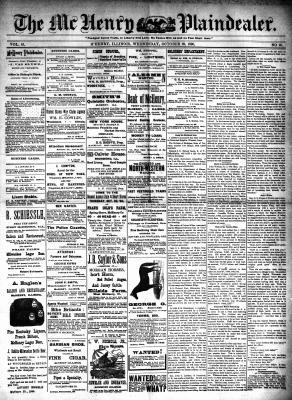 McHenry Plaindealer (McHenry, IL), 29 Oct 1890