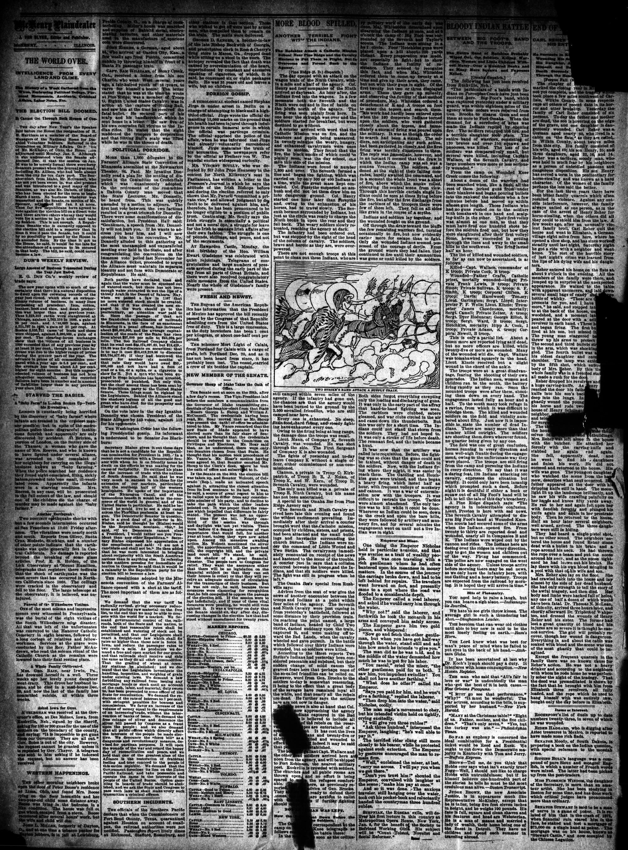 McHenry Plaindealer (McHenry, IL), 7 Jan 1891