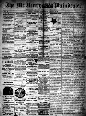 McHenry Plaindealer (McHenry, IL), 28 Jan 1891