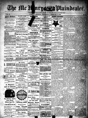 McHenry Plaindealer (McHenry, IL), 18 Feb 1891