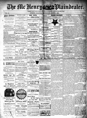 McHenry Plaindealer (McHenry, IL), 4 Mar 1891