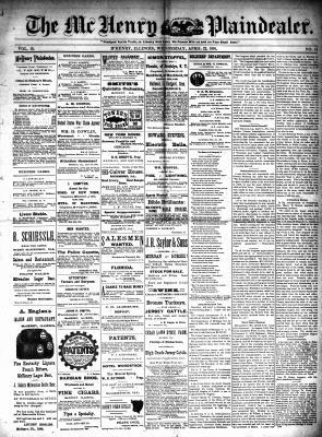 McHenry Plaindealer (McHenry, IL), 22 Apr 1891