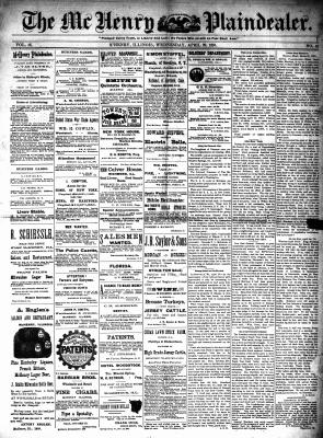 McHenry Plaindealer (McHenry, IL), 29 Apr 1891