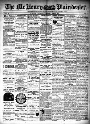 McHenry Plaindealer (McHenry, IL), 6 May 1891