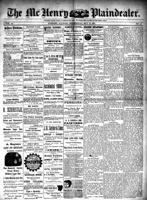 McHenry Plaindealer (McHenry, IL), 13 May 1891