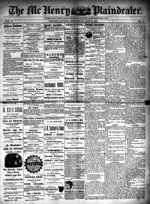McHenry Plaindealer (McHenry, IL), 10 Jun 1891
