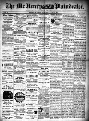 McHenry Plaindealer (McHenry, IL), 17 Jun 1891