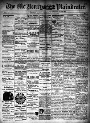 McHenry Plaindealer (McHenry, IL), 1 Jul 1891