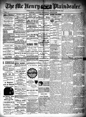 McHenry Plaindealer (McHenry, IL), 22 Jul 1891
