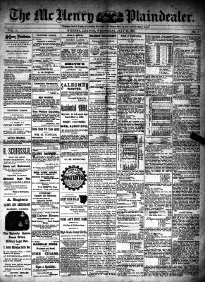 McHenry Plaindealer (McHenry, IL), 29 Jul 1891