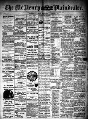 McHenry Plaindealer (McHenry, IL), 5 Aug 1891