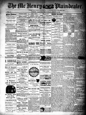 McHenry Plaindealer (McHenry, IL), 12 Aug 1891