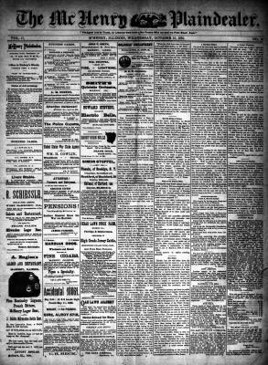 McHenry Plaindealer (McHenry, IL), 21 Oct 1891