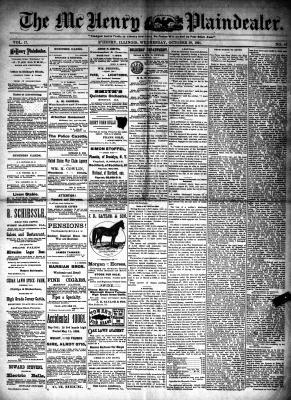 McHenry Plaindealer (McHenry, IL), 28 Oct 1891