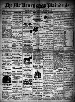 McHenry Plaindealer (McHenry, IL), 4 Nov 1891