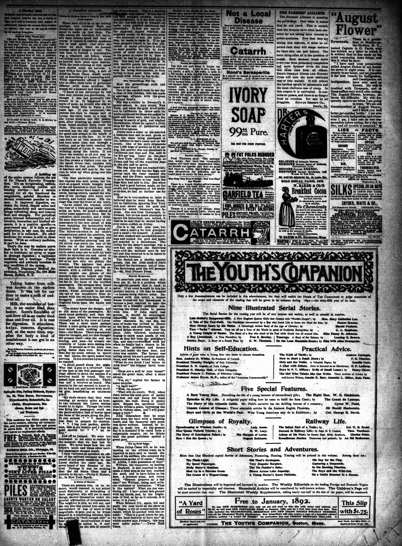 McHenry Plaindealer (McHenry, IL), 11 Nov 1891