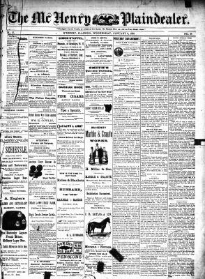 McHenry Plaindealer (McHenry, IL), 6 Jan 1892