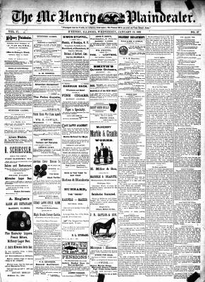 McHenry Plaindealer (McHenry, IL), 13 Jan 1892